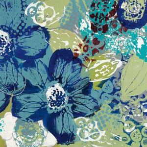 Garden Blues II by Leslie Bernsen