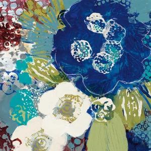 Garden Blues III by Leslie Bernsen