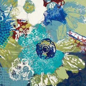 Garden Blues IV by Leslie Bernsen