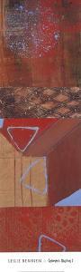 Geometric Illusions I by Leslie Bernsen