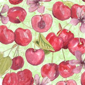 Cherry Medley I by Leslie Mark