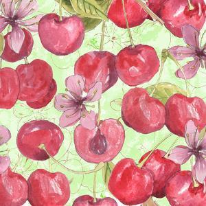 Cherry Medley II by Leslie Mark