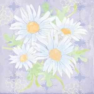 Daisy Patch Serenity I by Leslie Mark