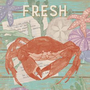 Fresh Seafood I by Leslie Mark