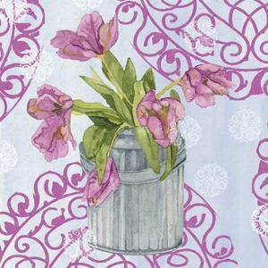 Garden Gate Flowers III by Leslie Mark