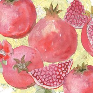 Pomegranate Medley I by Leslie Mark