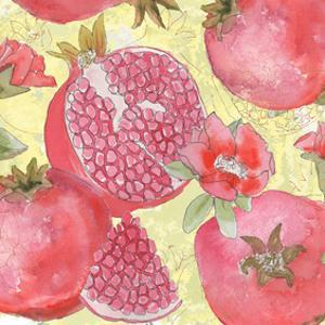Pomegranate Medley II by Leslie Mark