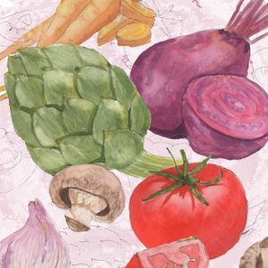 Veggie Medley I by Leslie Mark