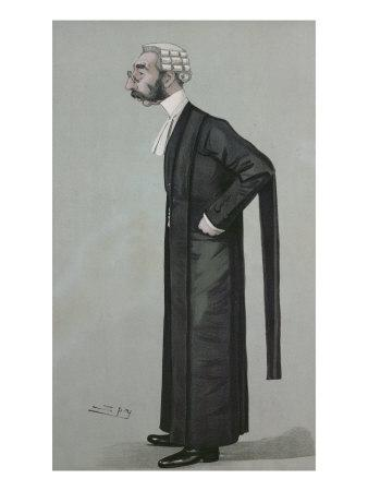 A Sporting Lawyer, form 'Vanity Fair', 17th March 1898