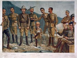 A General Group, Published by 'Vanity Fair' 1900 by Leslie Matthew Ward
