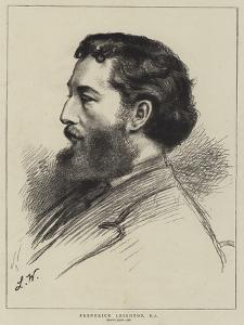 Frederick Leighton by Leslie Matthew Ward