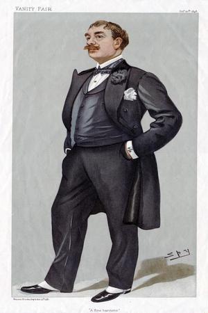 MAUREL Victor in Vanity Fair by Spy 1898