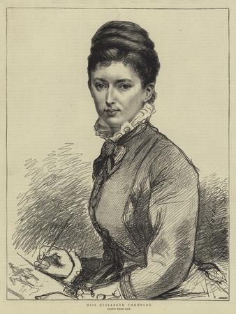 Miss Elizabeth Thompson