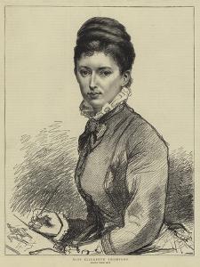 Miss Elizabeth Thompson by Leslie Matthew Ward