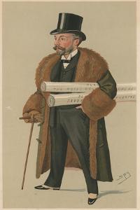 Richard D'Oyly Carte by Leslie Matthew Ward