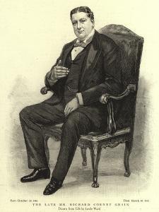 The Late Mr Richard Corney Grain by Leslie Matthew Ward