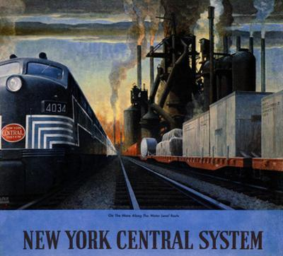 New York Central System, Along the Water Level Route