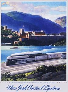 New York Central System, the New Empire State Express Poster by Leslie Ragan