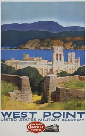 West Point Poster by Leslie Ragan