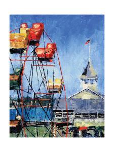 Balboa Ferris Wheel by Leslie Saeta