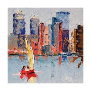 New York Harbor by Leslie Saeta