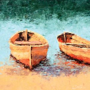 On the Sand by Leslie Saeta