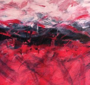 Pink & Blue by Leslie Saeta