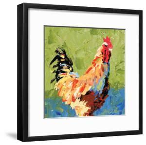 Rooster II by Leslie Saeta