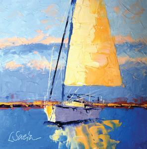 Sail Away by Leslie Saeta