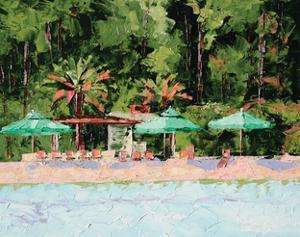 The Beach Club by Leslie Saeta