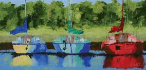 Three on the Bay by Leslie Saeta