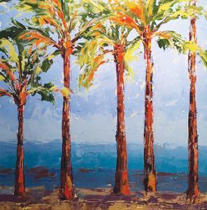 Through the Palms by Leslie Saeta