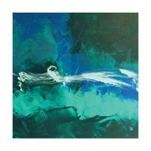 Wispy Waves II by Leslie Saeta