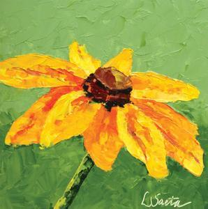 Yellow Blooms by Leslie Saeta