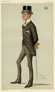 20th Earl Shrewsbury by Leslie Ward