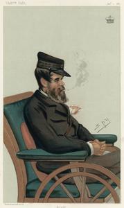 3rd Marquess Conyngham, Vanity Fair by Leslie Ward