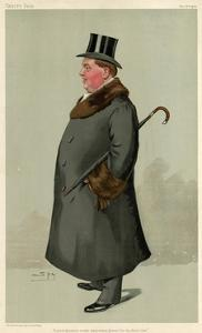 6th Earl of Donoughmore, Vanity Fair by Leslie Ward