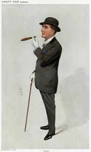 Alfred W. Cox, Vanity Fair by Leslie Ward