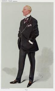 Allan Aynesworth by Leslie Ward