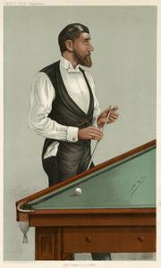 Billiards Champion, 1885 by Leslie Ward
