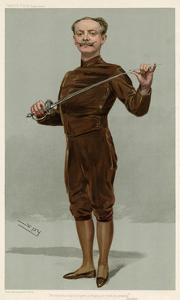 Egerton Castle, Writer and Fencer by Leslie Ward