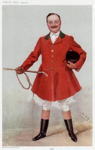 George C. Fitzwilliam, Vanity Fair by Leslie Ward