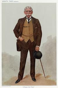George Luck by Leslie Ward