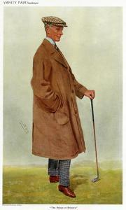 Golfing Wear for 1909 by Leslie Ward
