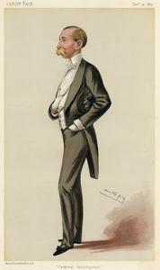 Howard Vincent by Leslie Ward