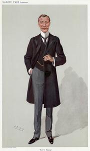 Hugh Cecil Lea by Leslie Ward