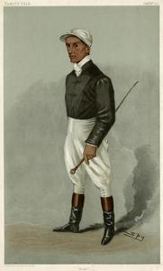 Jockey, Fred Rickaby VF by Leslie Ward