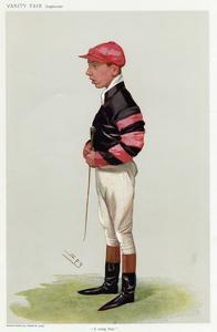 Jockey, WT Templeman VF by Leslie Ward
