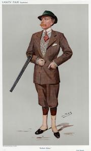 John Baron Savile by Leslie Ward