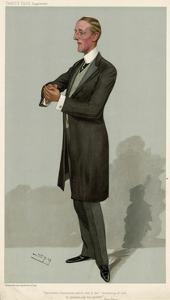 John Edward Bernard Seely by Leslie Ward